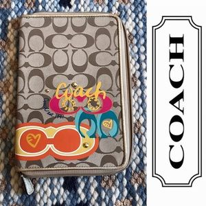 Coach Poppy Tablet Case